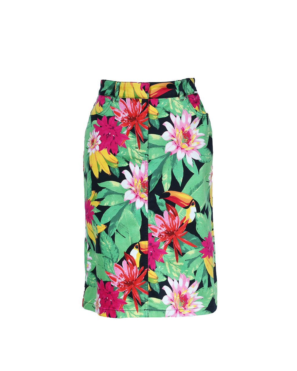 Escada Sport Tropical Print Skirt Size 36 (EU)
