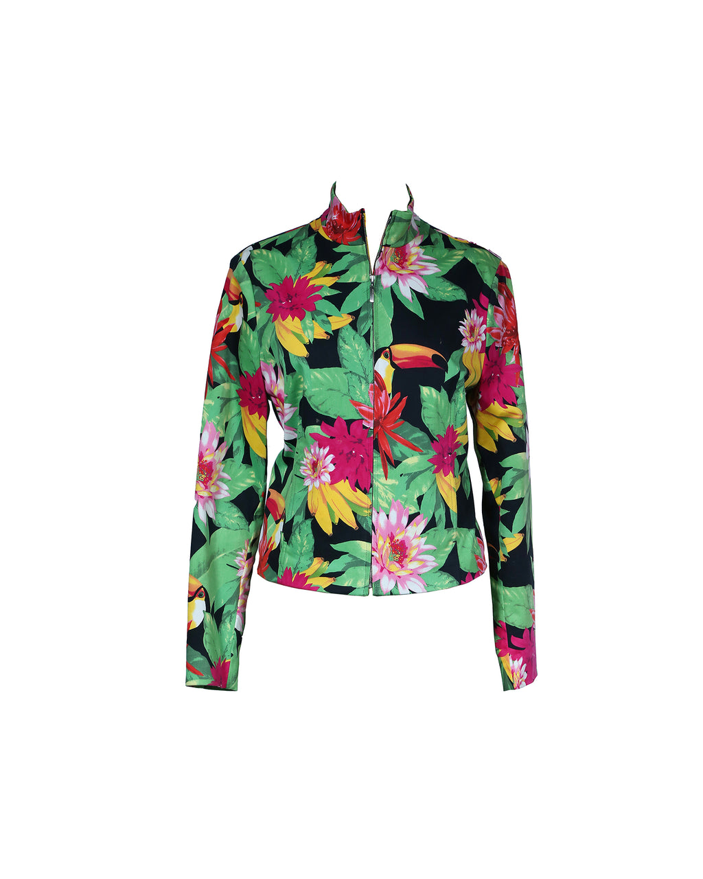 Escada Sport Tropical Print Jacket Size 40 (EU)