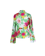 Escada Sport Tropical Print Blouse Size 38 (EU)