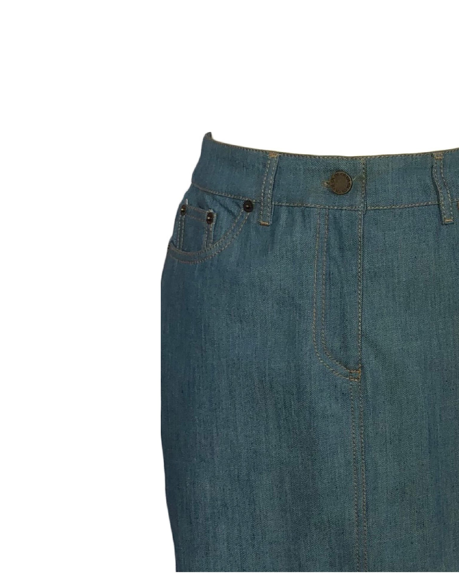 Carolina Herrera Denim Skirt Size 34 (EU)