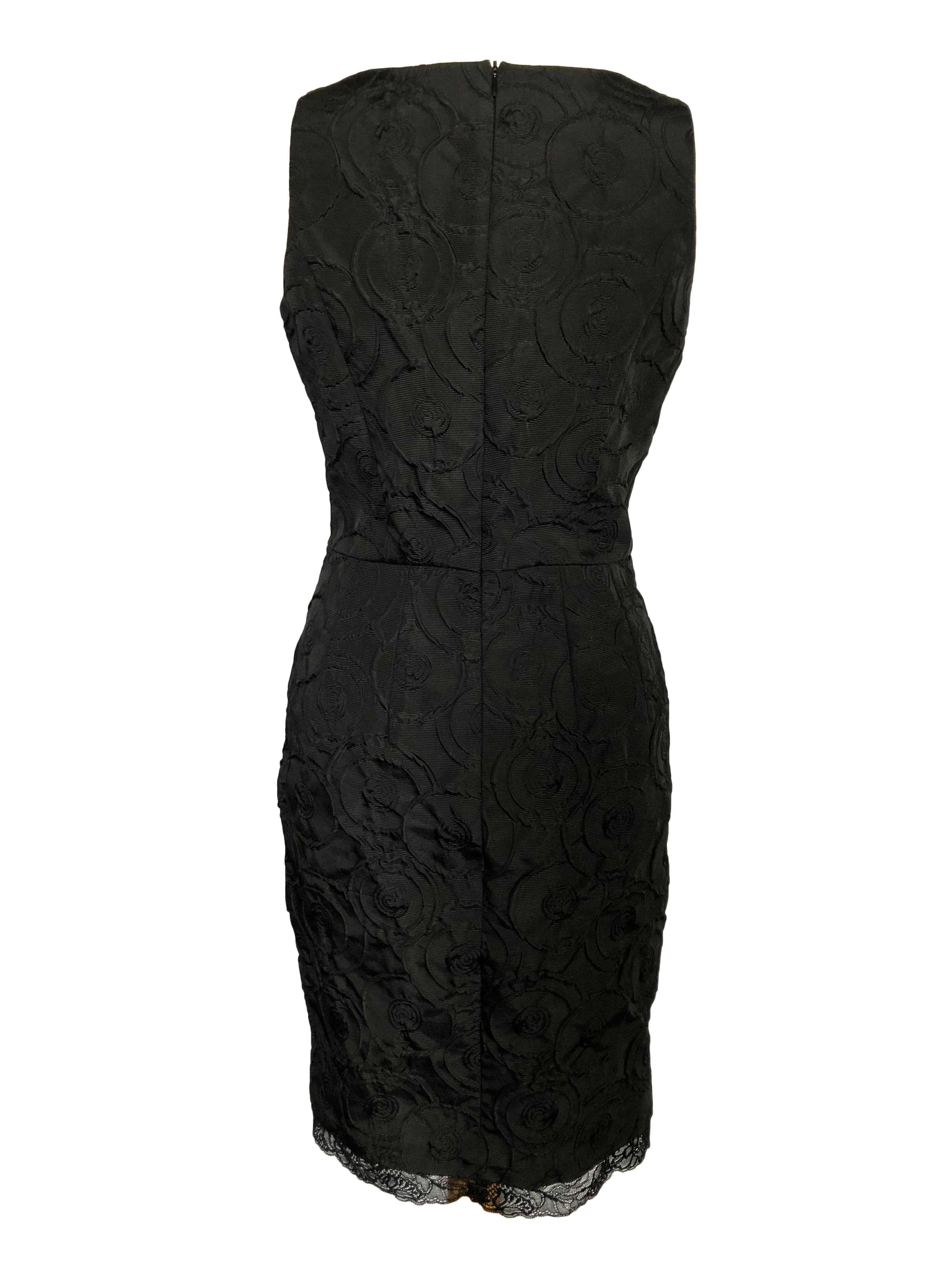 Georges Rech Synonyme Dress in Black Size 38 (EU)
