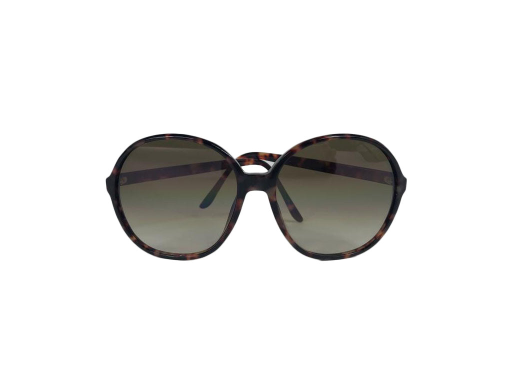 Yves Saint Laurent Brown Tortoise Shell Sunglasses
