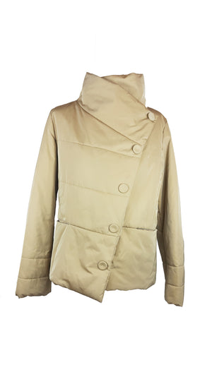 Ramosport Puffed Jacket in Beige  Size 38 (EU)