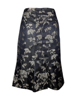 Karen Millen Asian Inspired Brown Skirt with Golden Embroidered Details Size 38 (EU)A