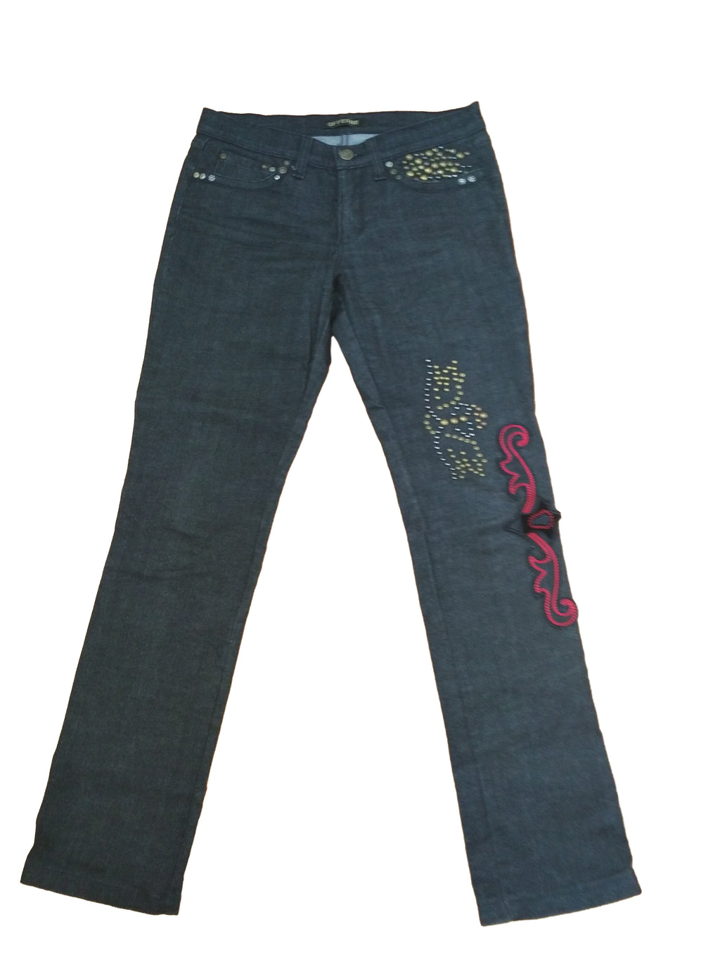 Gianfranco Ferré Jeans with Applique Size 38 (EU)