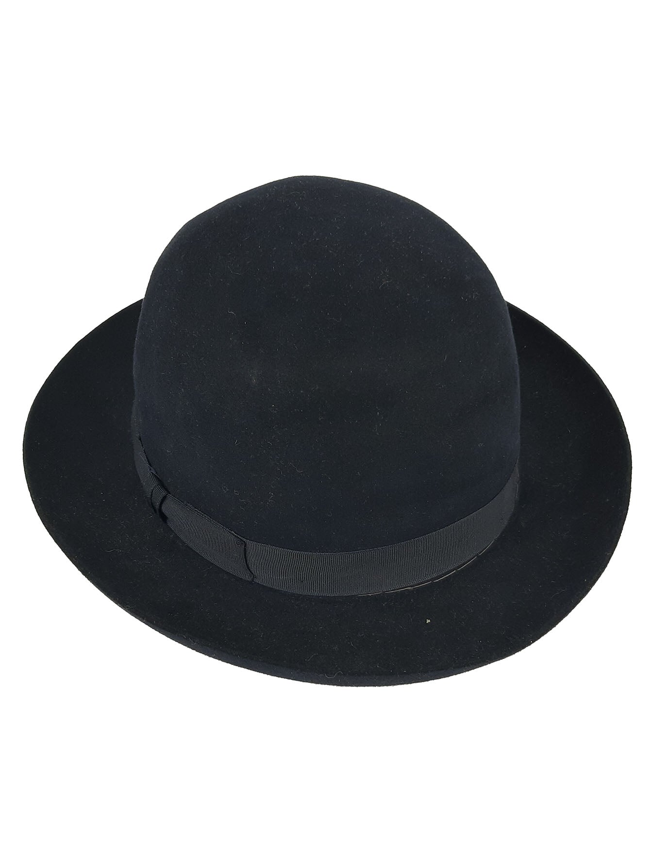 H&K 1899 Tailor Made Highest Quality Wool Hat in Dark Blue  55-56 cm