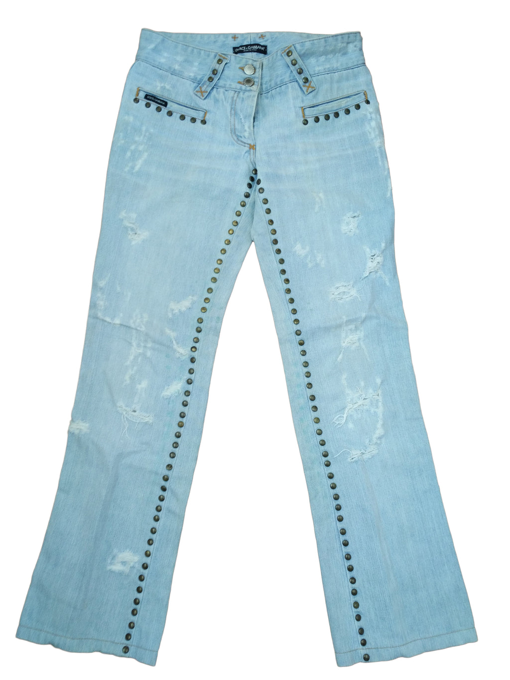D&G Jeans with Applique Size 38 (EU)