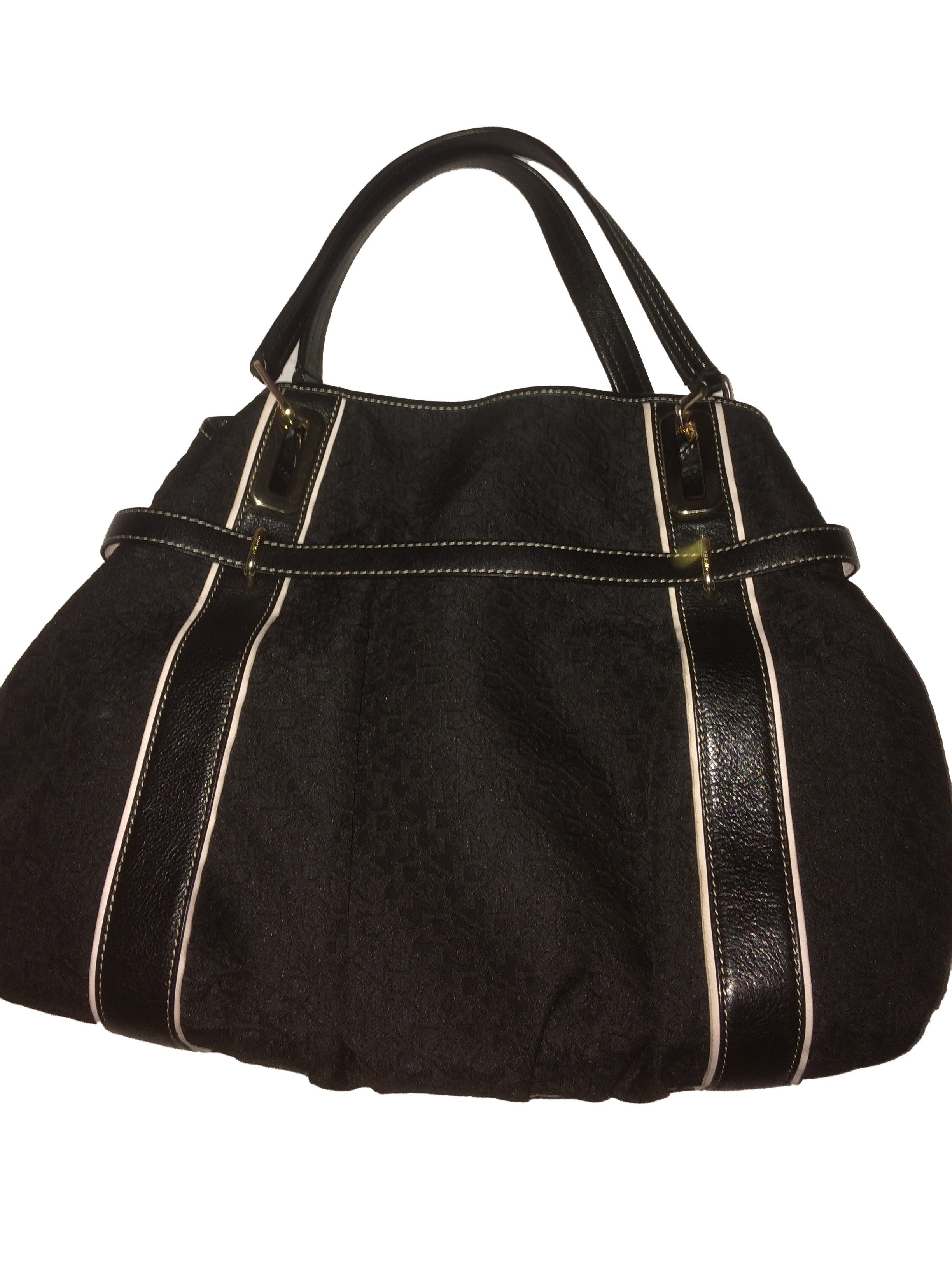 DKNY Monogram Black Bag
