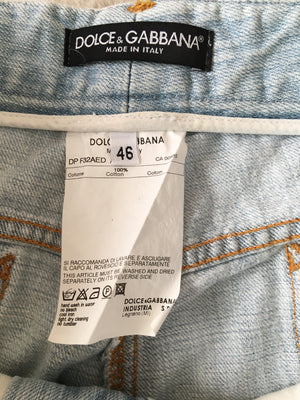 D&G Ripped Jeans Size 42 (EU) 46 (IT)