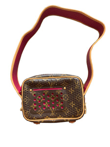 Louis Vuitton Limited Edition Mini Perforated Trocadero Bag