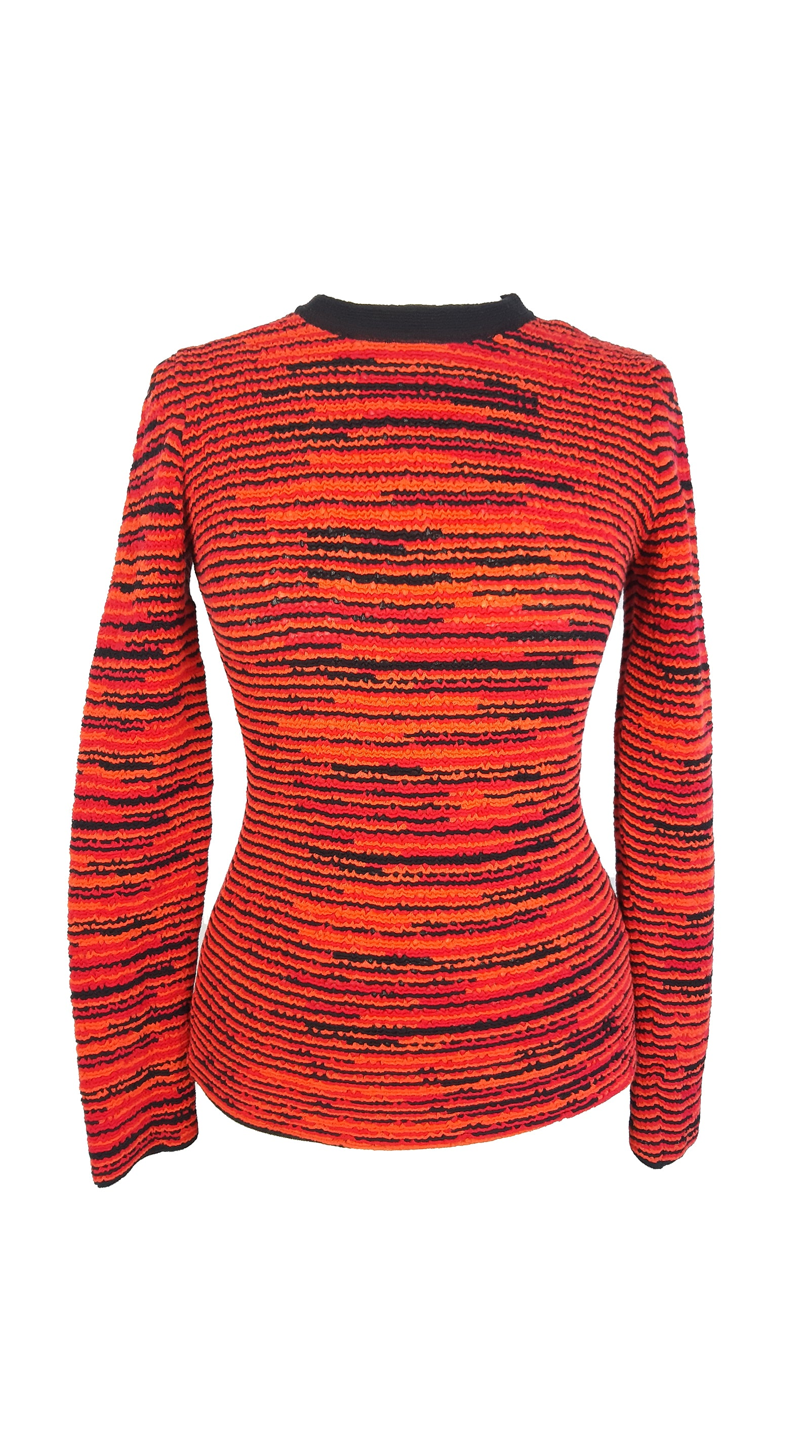 Missoni Black, Orange and  Pink Jumper Size 44 (IT)/ 38 (EU)