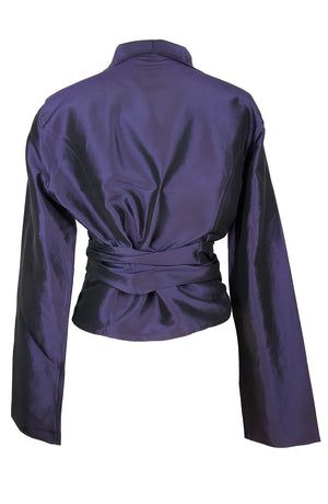 Pauw Amsterdam Purple Silk Jacket Size 3
