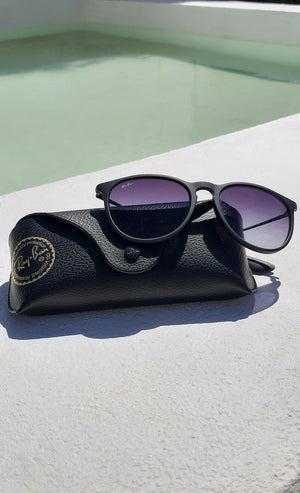 Ray-Ban Erika Classic Sunglasses in Black