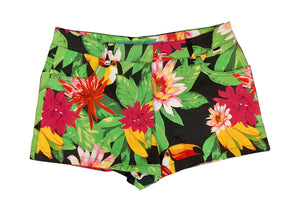 Escada Sport Tropical Print Shorts Size 38 (EU)