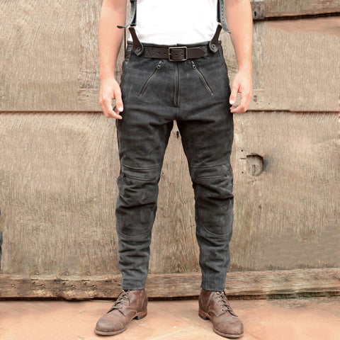 Men's Fashion Zip Casual Pants