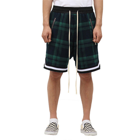 Scottish Style Vintage Plaid Shorts