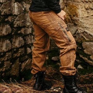Men's fashionable loose zipper casual pants