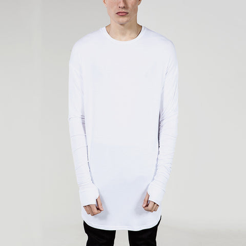 Casual Cotton Long Sleeve Bottoming T-Shirt