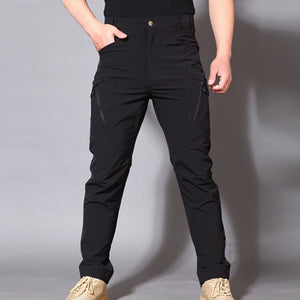 Mens Fashion Outdoor Pockets Pants