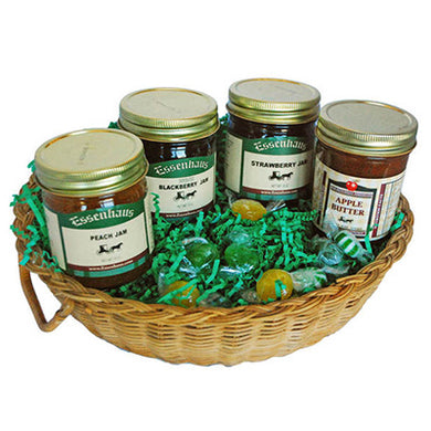 Four Spreads Basket