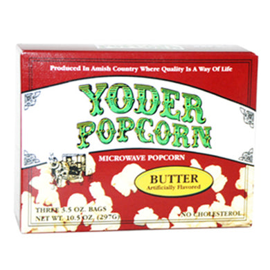 Yoder Microwave Popcorn (Butter)