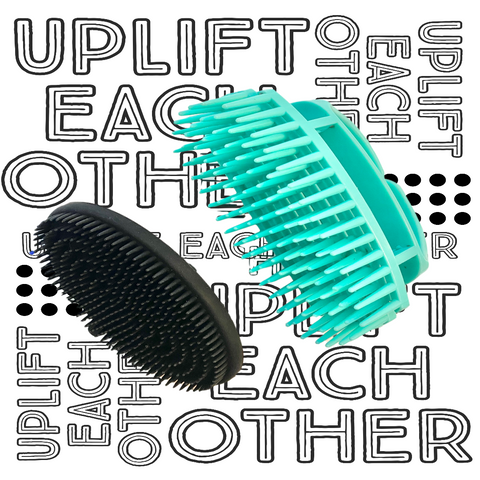Bundle Set - Combo Brush & J.R. Brush (Aqua & Black)