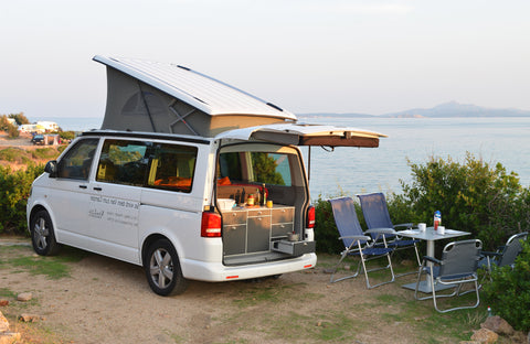 Volkswagen California Camping Fitout with KombiLife and VanEssa mobilcamping