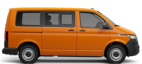 T6.1 Crewvan 4motion 5-seater Australia with additional rear windows