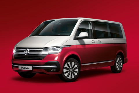 VW T6.1 Multivan Cruise Limited Edition Australia - Fortana Red / Reflex Silver