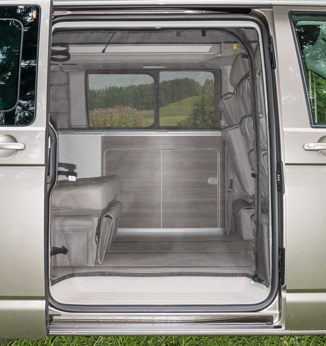 BRANDRUP FLYOUT VW T6/T5 California Sliding Door Right with Curved Door Opening
