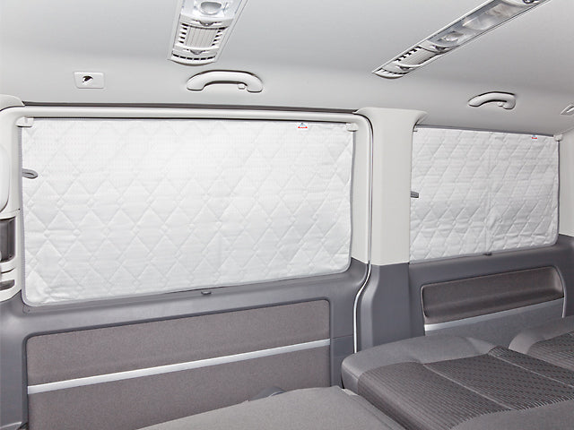 BRANDRUP ISOLITE EXTREME in Side Window (RIGHT) with NO Sliding Window - VW T6 & T5