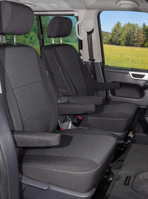 Second Skin Protective Covers - Driver/Passenger Set - VW T6 Multivan w/ Airbags - Design