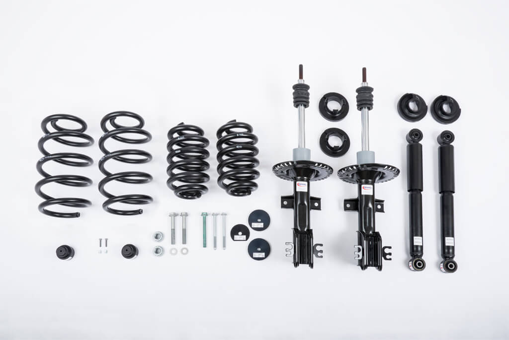 VW T5 'MAXI' Lift Kit for 3.2t GVM Off Road Raised Suspension by Seikel GmBH Germany