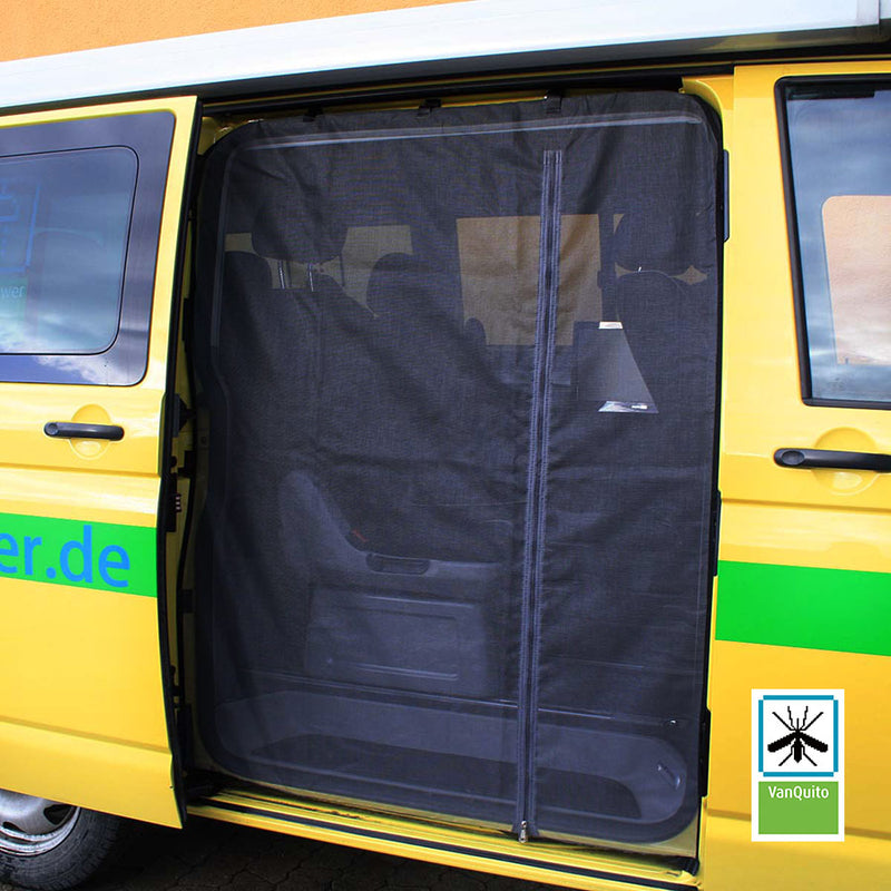 Mosquito Net VW T5/T6 with Zip for Side Door