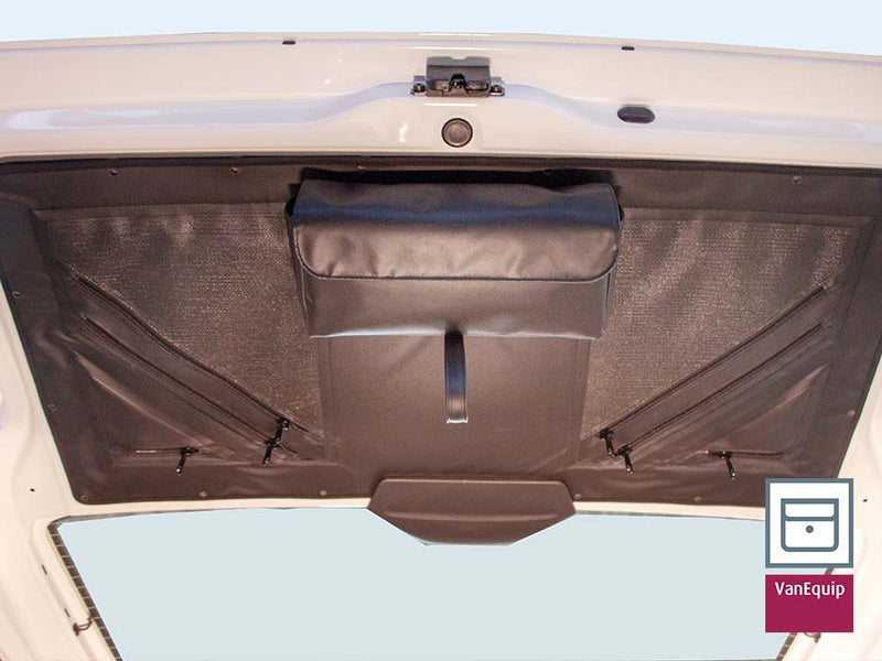 Transporter Tailgate Interior Lining w/ Zippered Storage Pockets - VW Transporter - T6.1 / T6 / T5