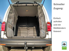 Load image into Gallery viewer, Mosquito Net VW Caddy REAR from 2010 with Integrated Zippers
