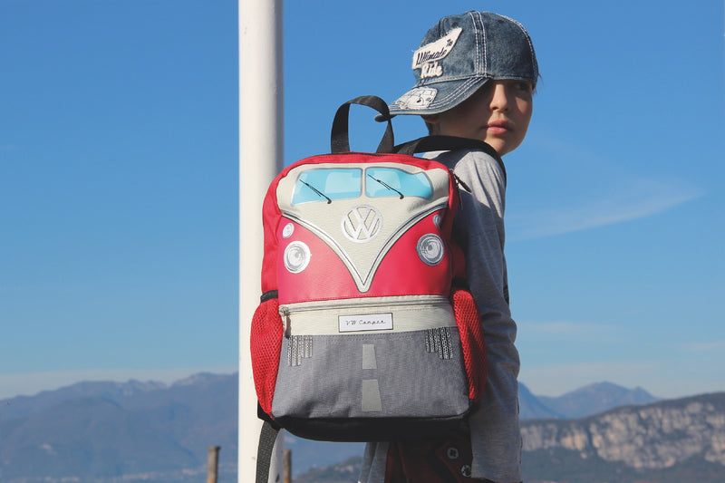 VW T1 Bus Backpack Small - Red