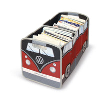 Load image into Gallery viewer, VW T1 Bus Foldable Storage Box - Red/Black