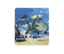Load image into Gallery viewer, VW T1 Bus Beach Thongs / Sandals (EU 42/43) - Beachlife - Blue