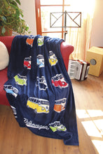Load image into Gallery viewer, VW T1 Bus Fleece Blanket - Parade