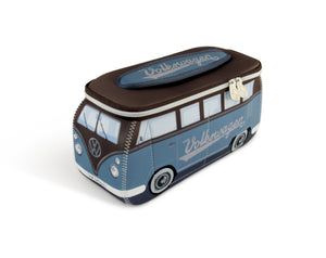 VW T1 Bus 3D Neoprene Universal Bag-Blue and Brown