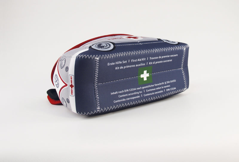VW T1 Bus 3D Neoprene Small Universal Bag - First Aid - includes First Aid Kit