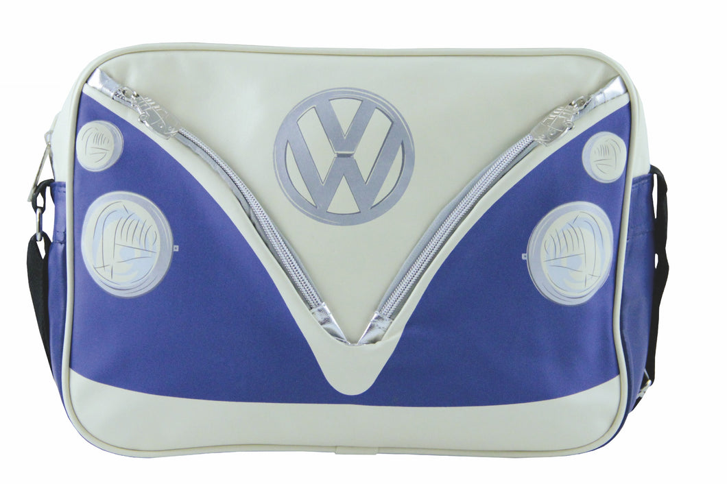 VW T1 Bus Shoulder Bag Landscape - Blue