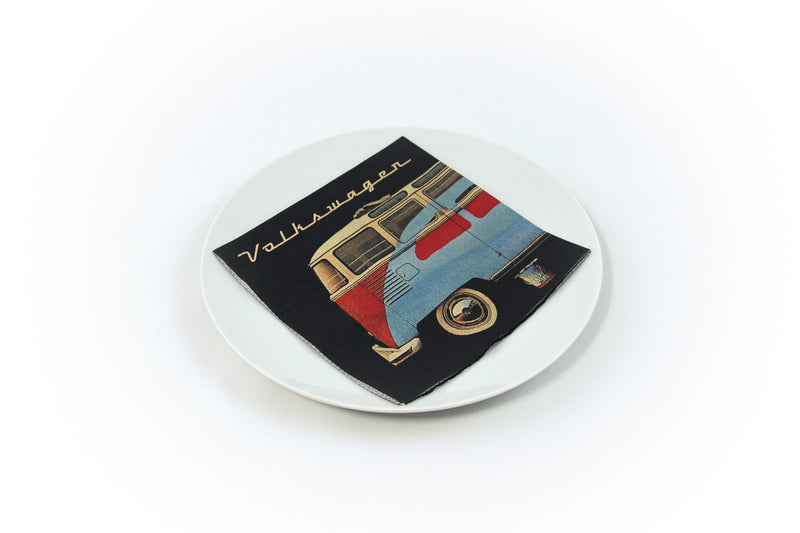 VW T1 Bus Design Napkins - Samba & Beetle