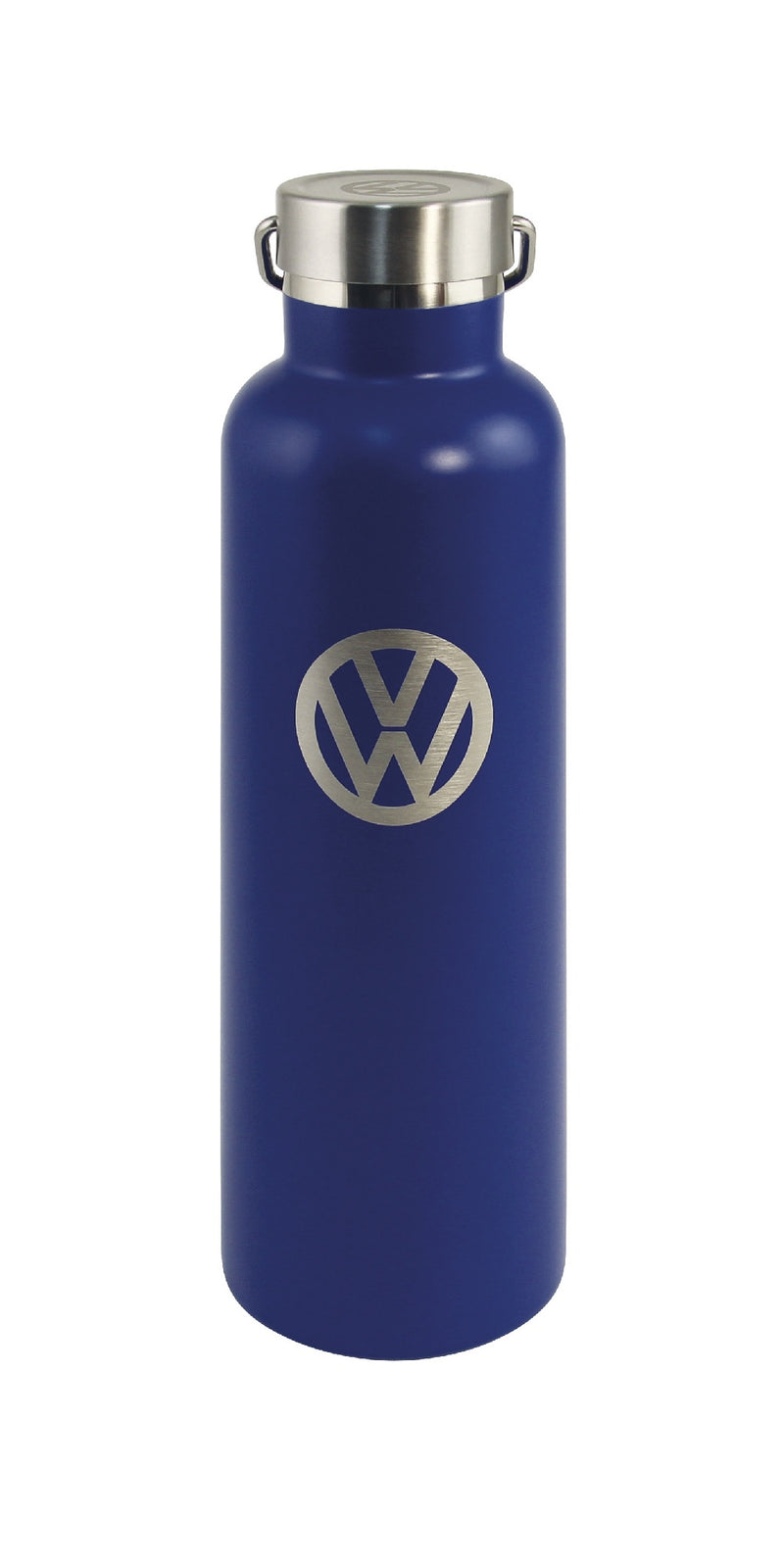 VW Stainless Thermos Drinking Bottle, Vacuum Insulated, Hot/Cold, 735ml – Blue