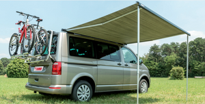 Fiamma F45s 2.6m wind-out Cassette Awning & Brackets for SWB Multivan, Transporter, & Caravelle