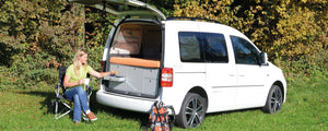 VanEssa mobilcamping Double Sleep System for Caddy