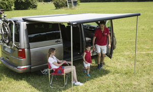Fiamma F40 2.7m wind-out Cassette Awning & Brackets for SWB Multivan, Transporter, & Caravelle