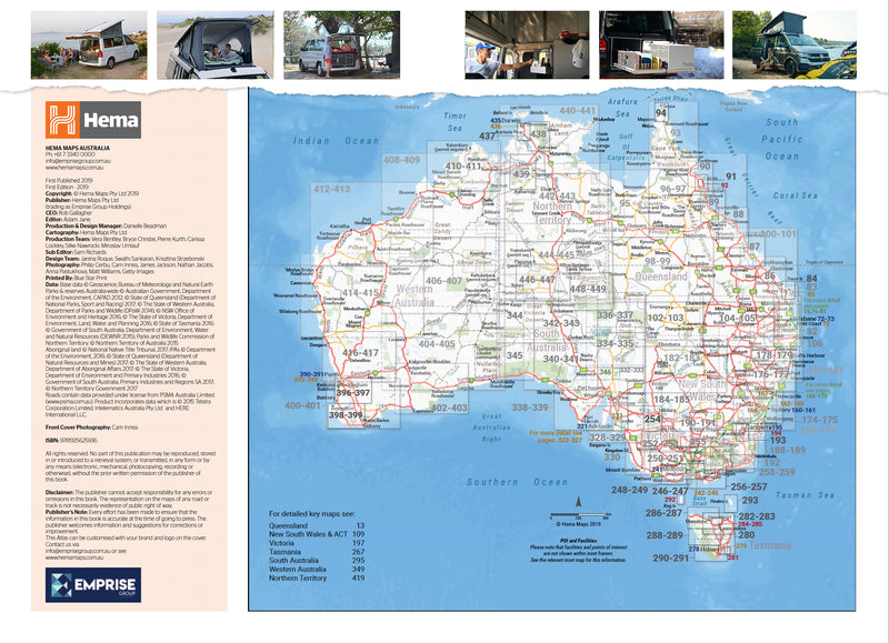 Hema Maps Where To Camp Guide Australia