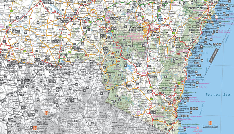 Hema Maps New South Wales State Map